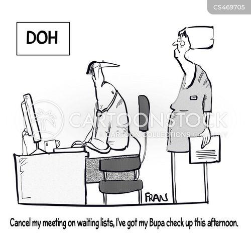 healthcare providers cartoon