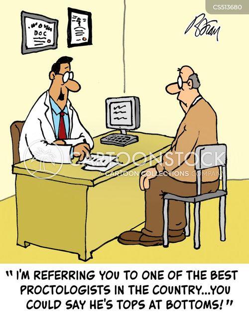 medical referral cartoon