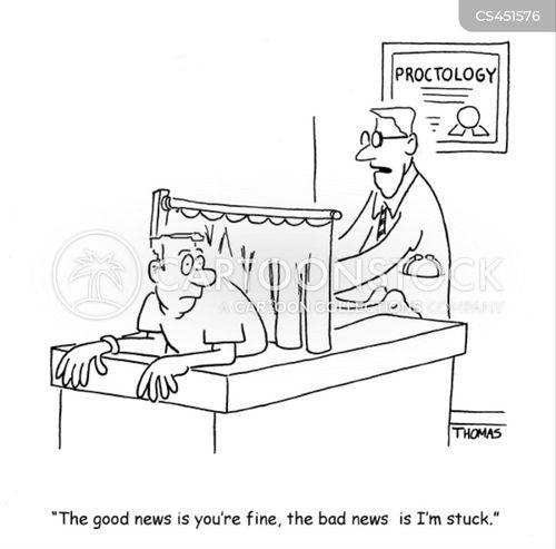 proctology exam cartoon