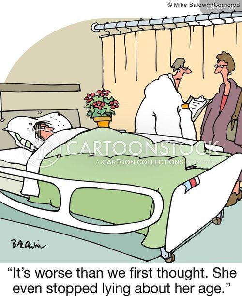 terminal disease cartoon