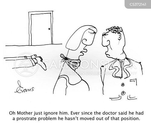prostate cancer cartoon