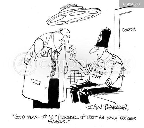 psoriasis cartoon