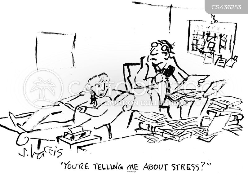 Coping With Stress Cartoons and Comics - funny pictures from ...