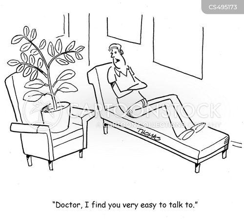easy to talk to cartoon