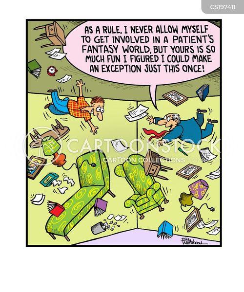 imaginary world cartoon