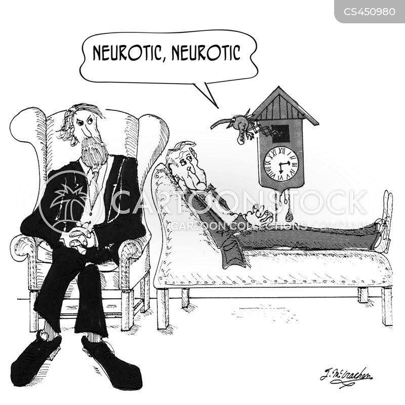 neurotic cartoon
