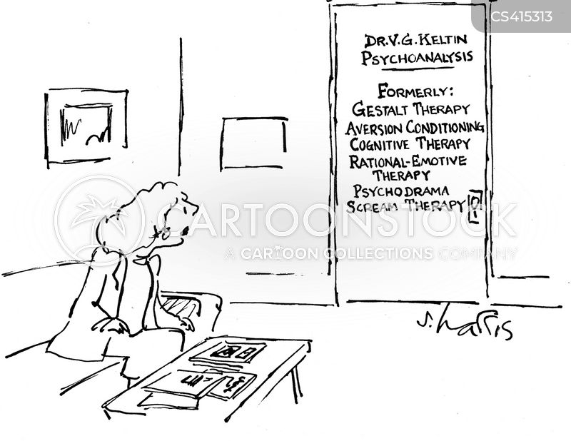 cognitive therapy cartoon