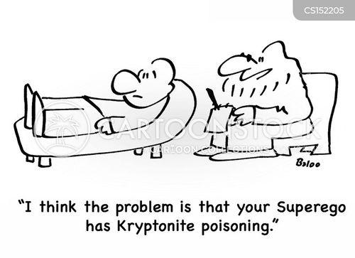 kryptonite cartoon