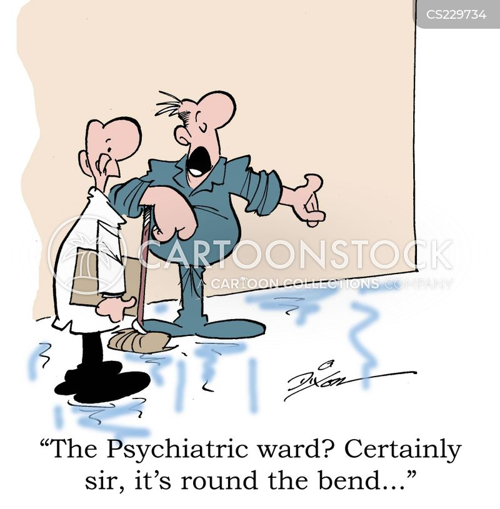 psychiatric wards cartoon