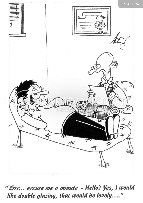 psychiatric patient cartoon