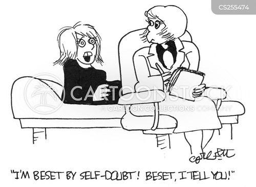 self doubt cartoon