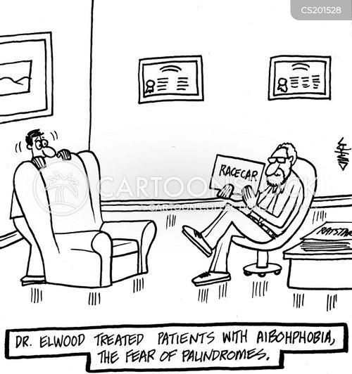 irrational phobia cartoon