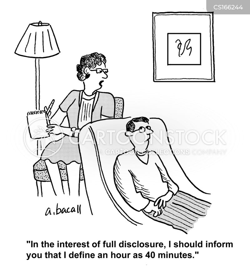 full disclosure cartoon