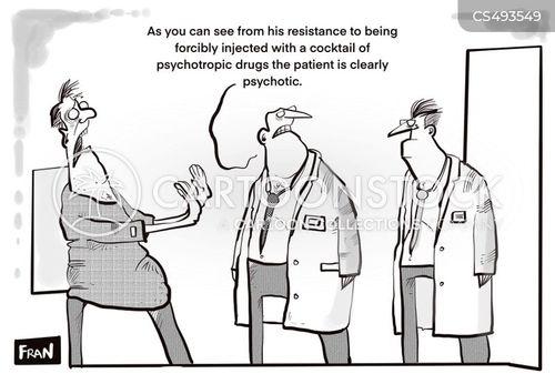 psychoses cartoon