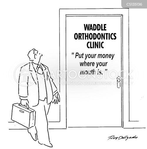 orthodontic cartoon