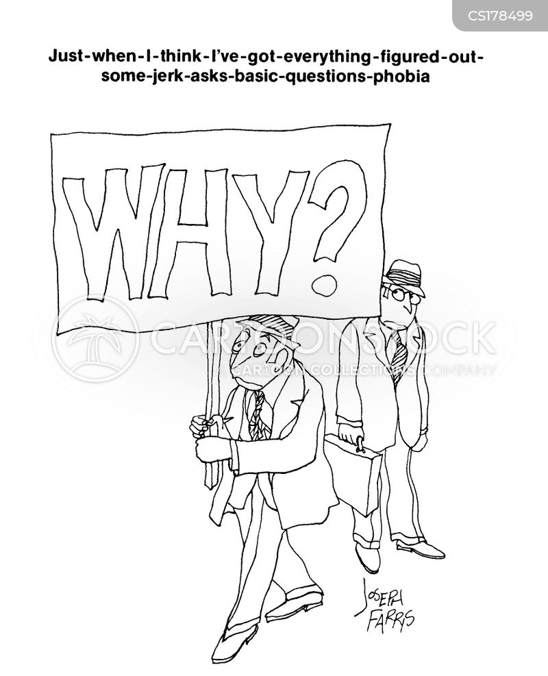 asking why cartoon