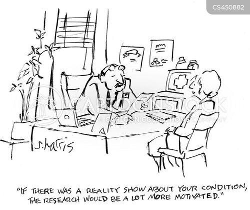 rare diseases cartoon