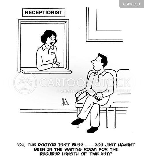 waiting lists cartoon