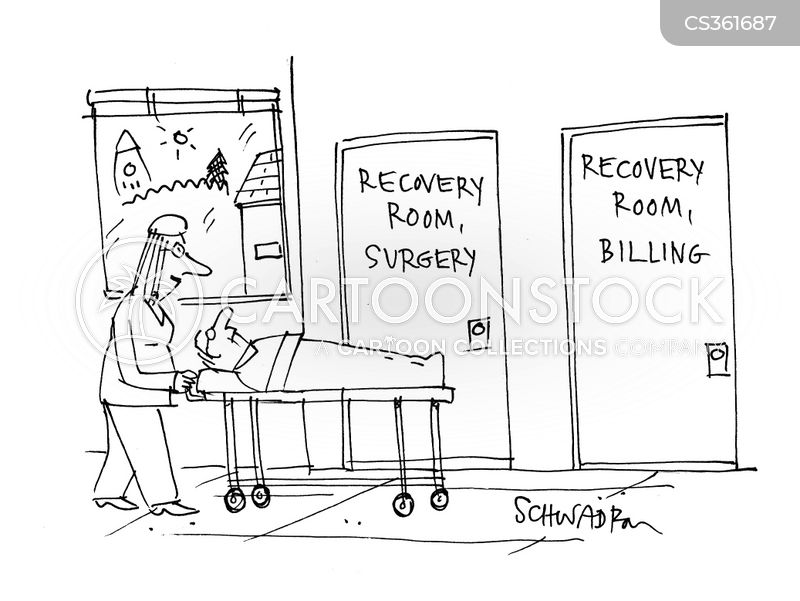 recovery rooms cartoon 3 of 9