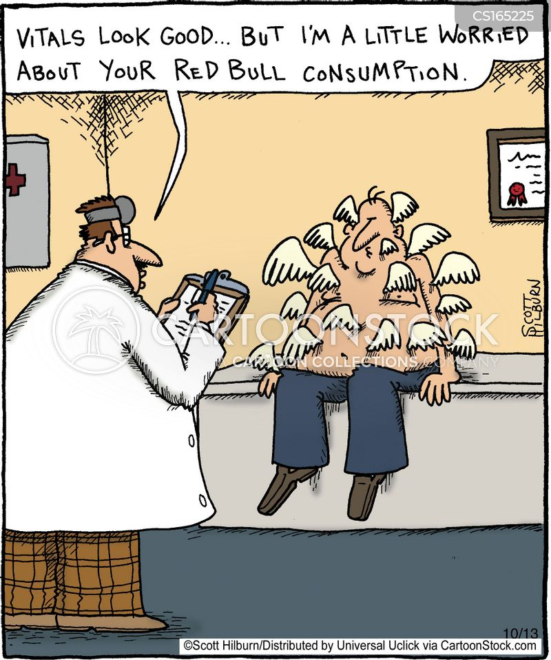 red bull cartoon