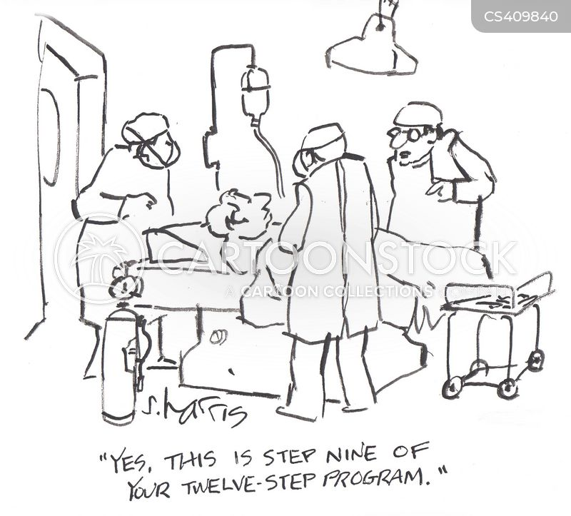 twelve-step programs cartoon