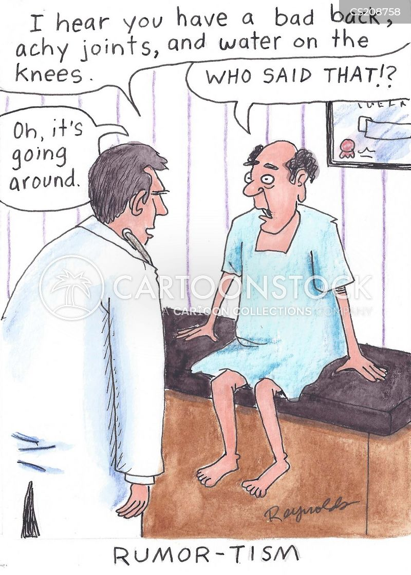 rheumatic disorders cartoon