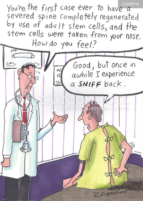 medical breakthrough cartoon