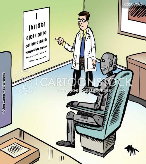 eye health cartoon