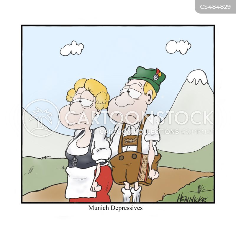 german stereotype cartoon