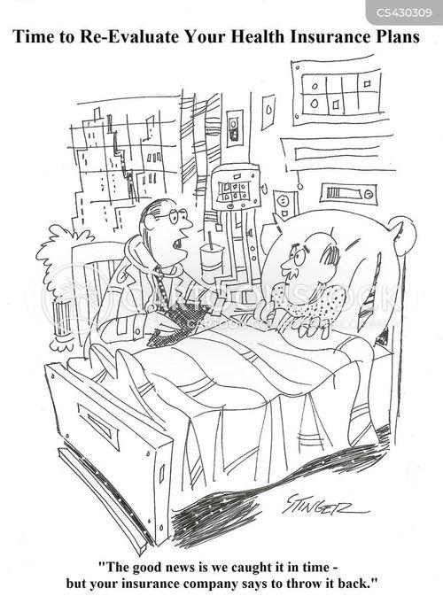 insurance scam cartoon