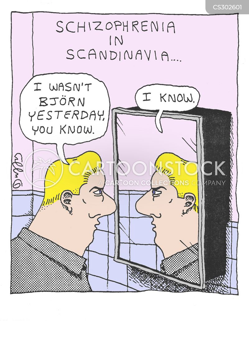 scandinavian cartoon