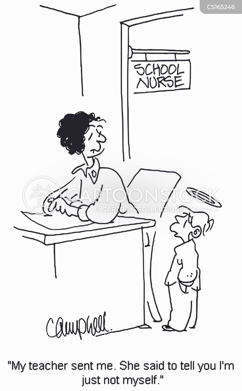 school nurse cartoons and comics funny pictures from cartoonstock