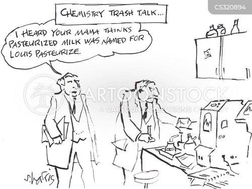 pasteur cartoon