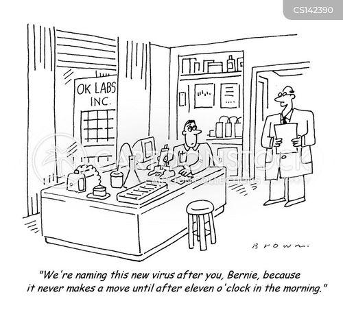 over sleep cartoon