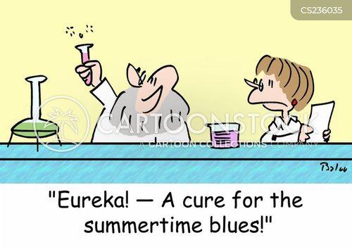 feeling blue cartoon