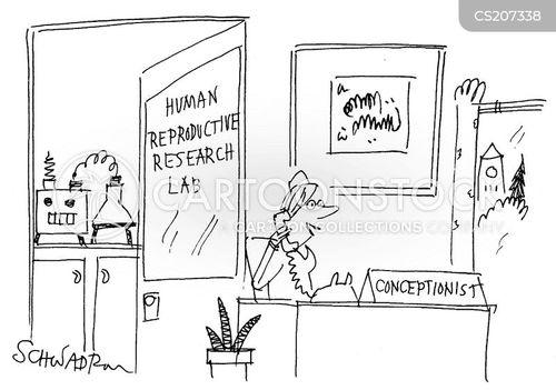 conception cartoon