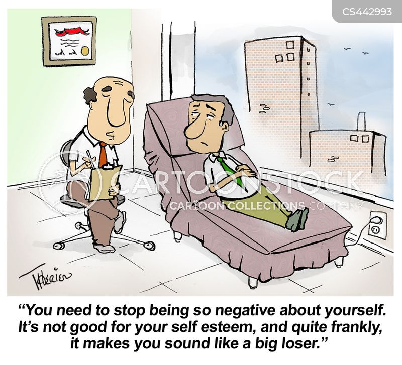 confidence issues cartoon