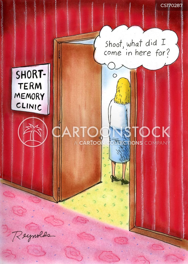 short-term memory cartoon