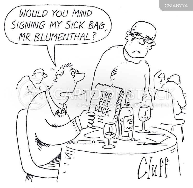 gourmet eating cartoon