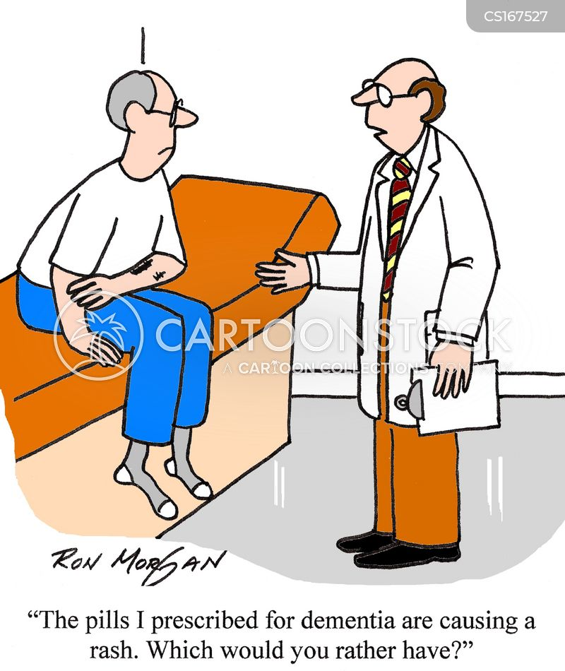 Image result for dementia drugs cartoon