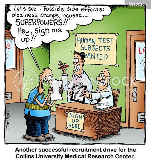 drug testing cartoon