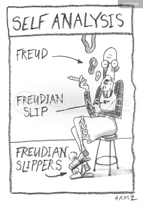 psychoanalysing cartoon