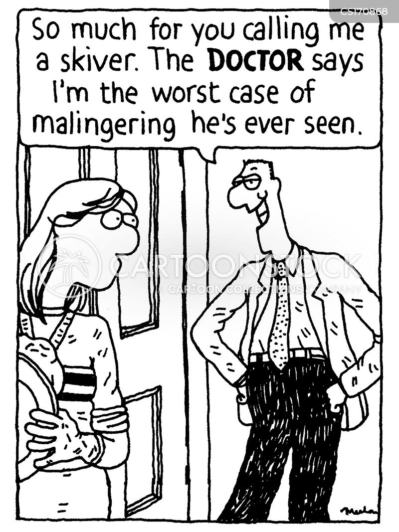 malingering cartoon
