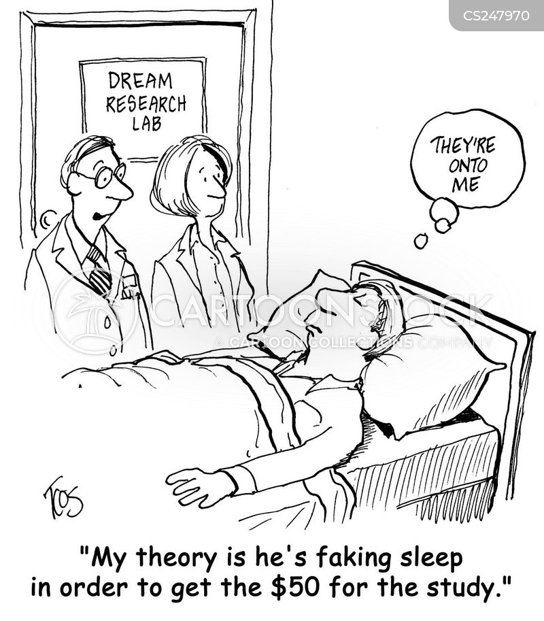 sleep disorder cartoon