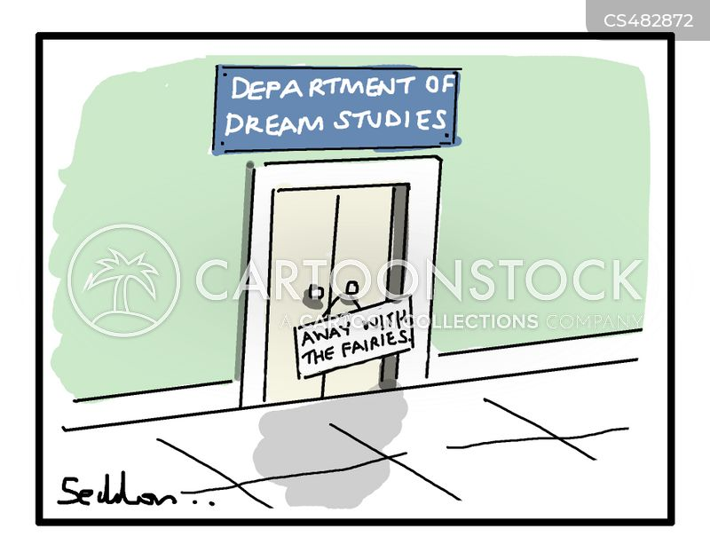 sleep studies cartoon