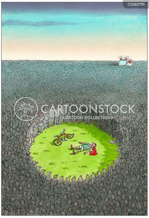 onlooking cartoon