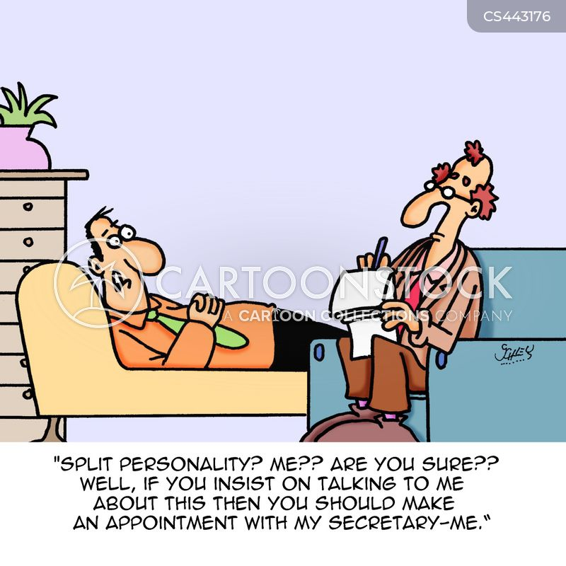 Personality Disorders Cartoons and Comics - funny pictures