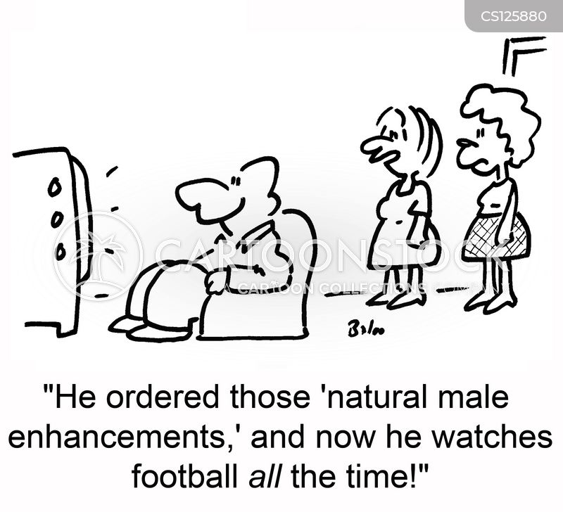 male enhancements cartoon
