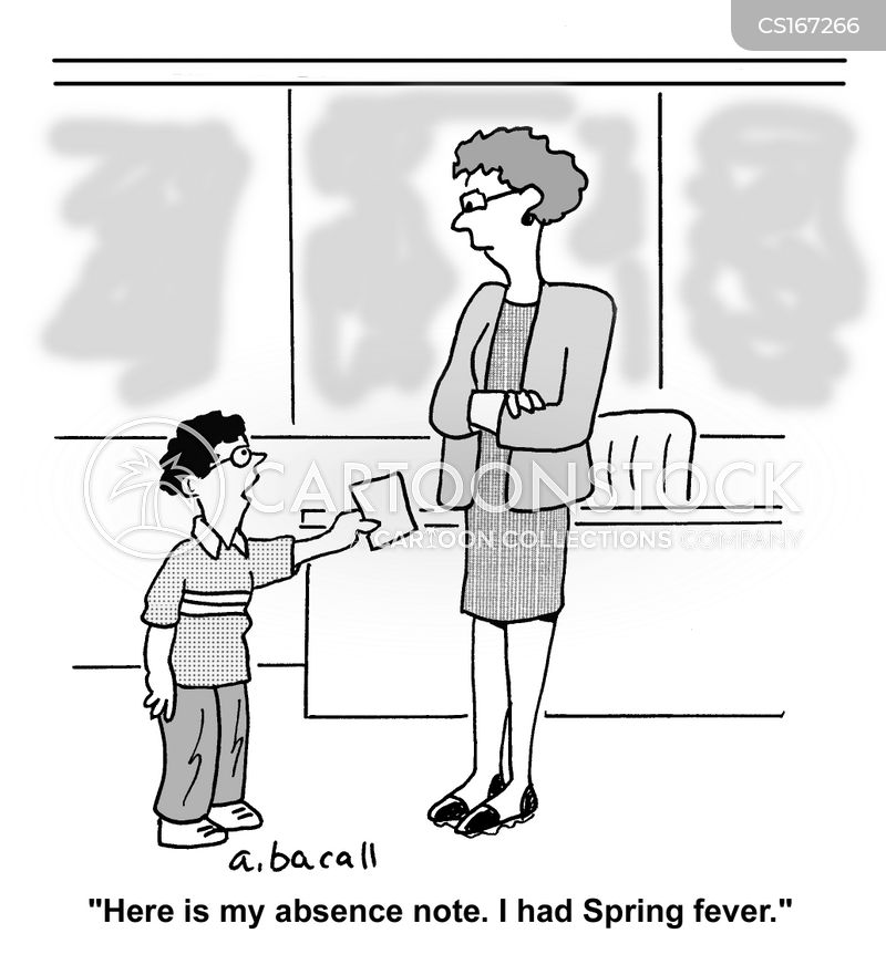 spring fevers cartoon