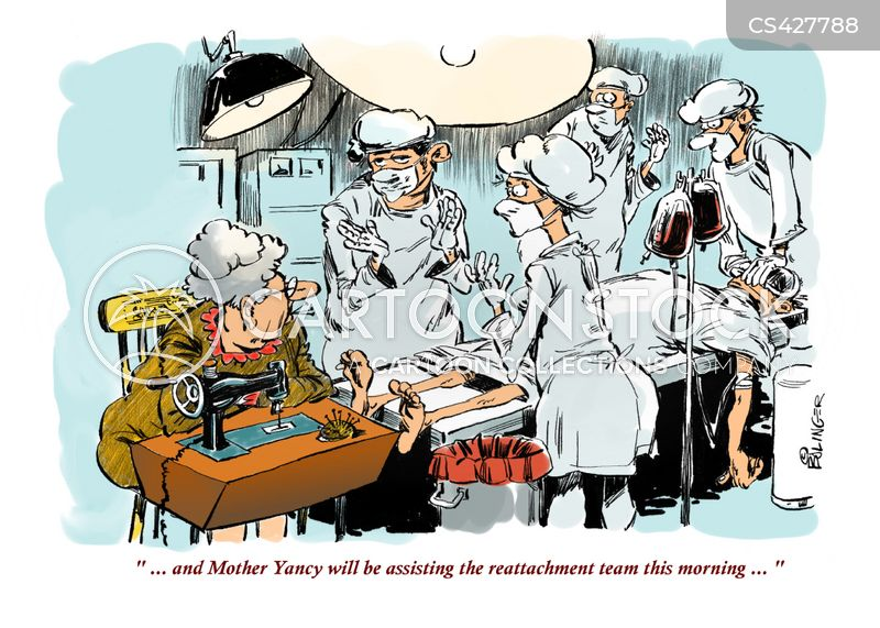sewing machines cartoon